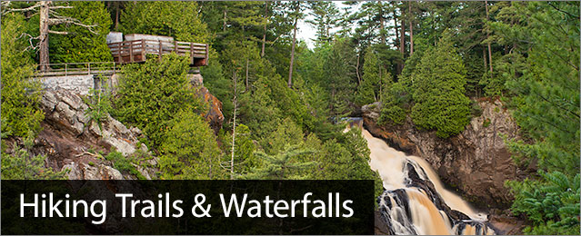 Hiking Trails, image of Big Manitou Falls