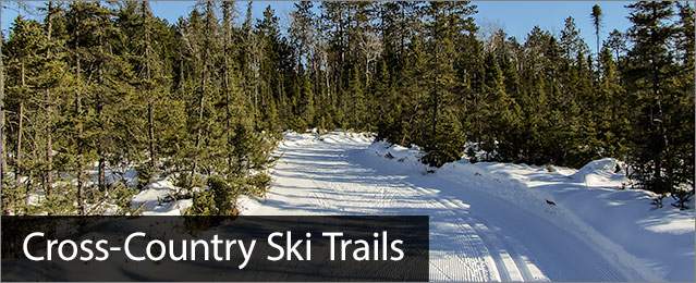 Cross Country Skiing, image of Minocqua Winter Park