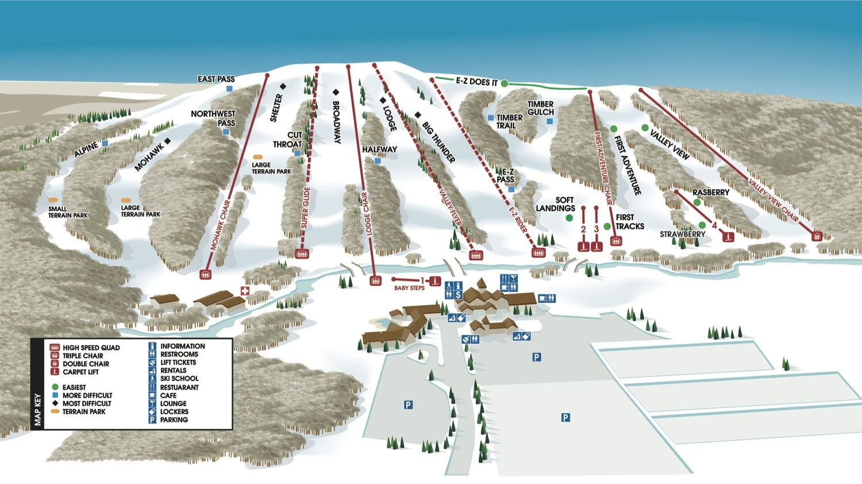 Alpine Valley Wisconsin Trail Guide